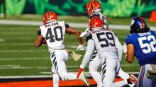 The Latest: Giants, Bengals Trade Early Touchdowns