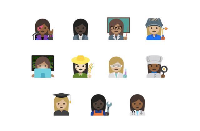 Google's emoji for working women get thumbs up from Unicode