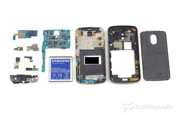Verizon Galaxy Nexus spills its guts, gets Ice Cream Sandwich all over the floor
