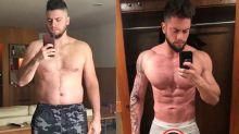 Marido de Preta Gil posta antes e depois da dieta