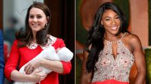 Serena Williams Has Some Sweet Words for Kate Middleton Following the Birth of Royal Baby No. 3
