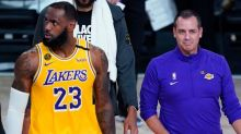 Not that anyone was trying to give them one, but Frank Vogel says no asterisk for Lakers