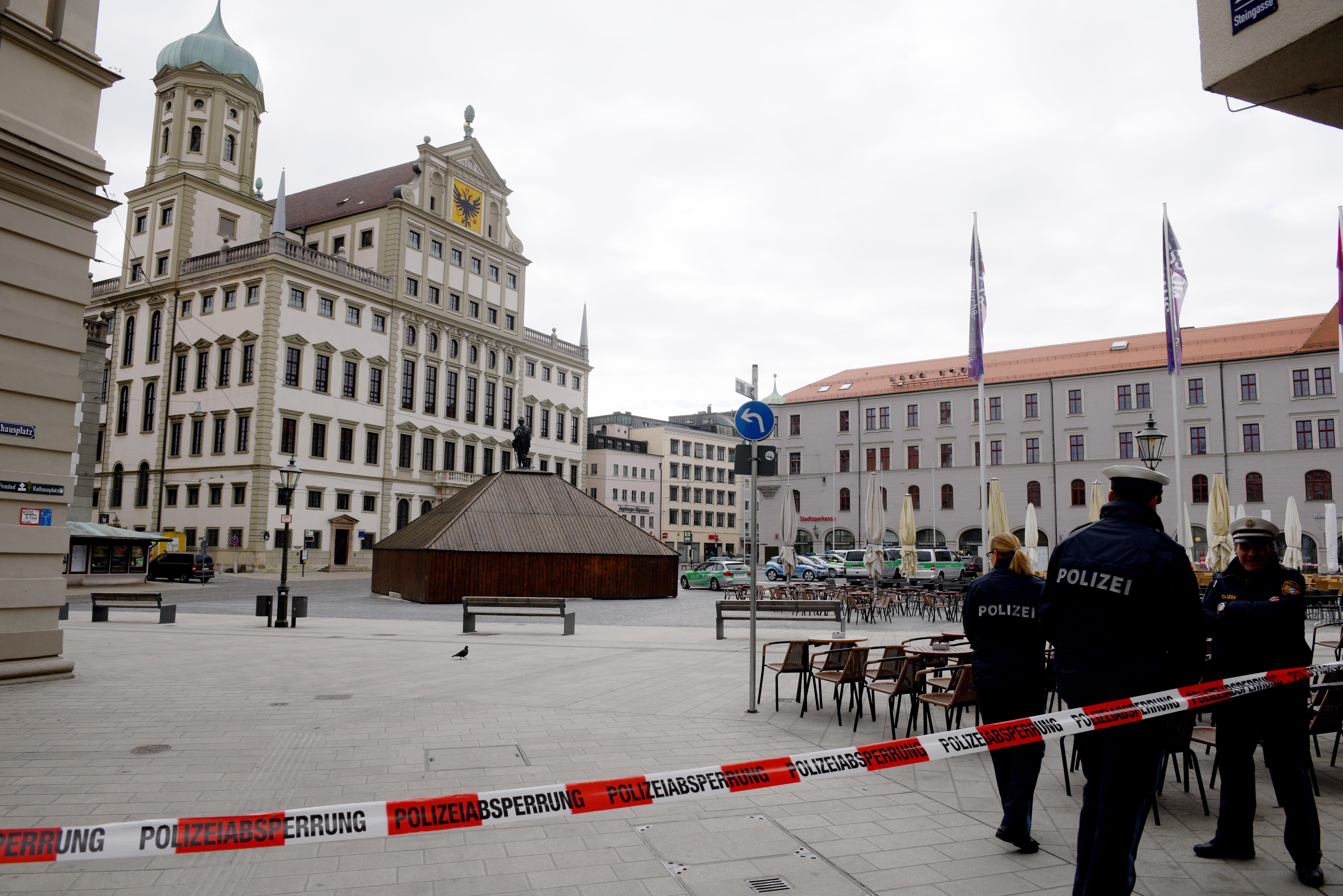 Rathäuser Evakuiert