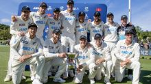NZ cricketers land for bio-secure ENG tour