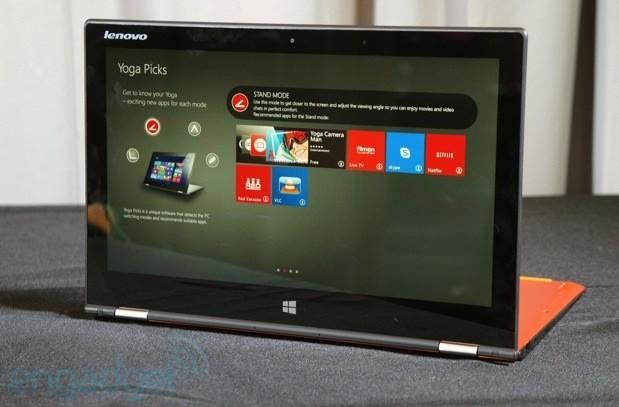 Lenovo announces Yoga 2 Pro with 3,200 x 1,800 screen, slimmer design (update: video)