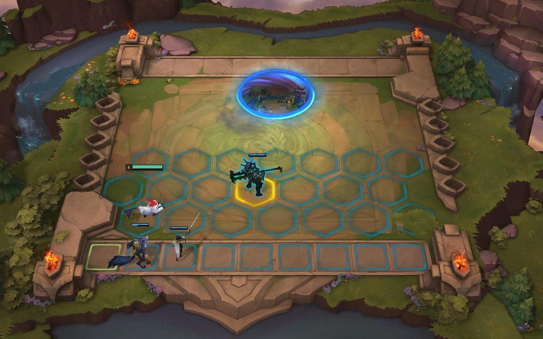昨(11)晚《英雄聯盟》驚喜宣布將推出全新遊戲模式「聯盟戰棋」圖:翻攝自 英雄聯盟 官網