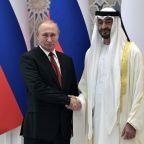 Russia's Putin seeks to enhance ties to US-allied UAE