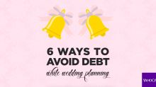 6 ways to avoid debt during wedding planning