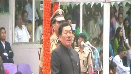 Chamling unveils Unique Butterfly Flyover in Gangtok