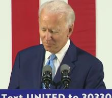 Biden announces he won't hold campaign rallies during pandemic