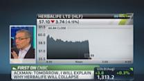 Herbalife shares plunge on Ackman comments