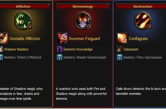 Blood Pact: Cataclysm-era leveling guide for warlocks