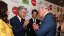 Prince Charles uses namaste greeting at Prince's Trust award