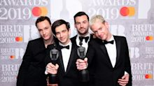 In Pictures: Brits winners show off their awards