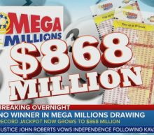 No Mega Millions drawing winner