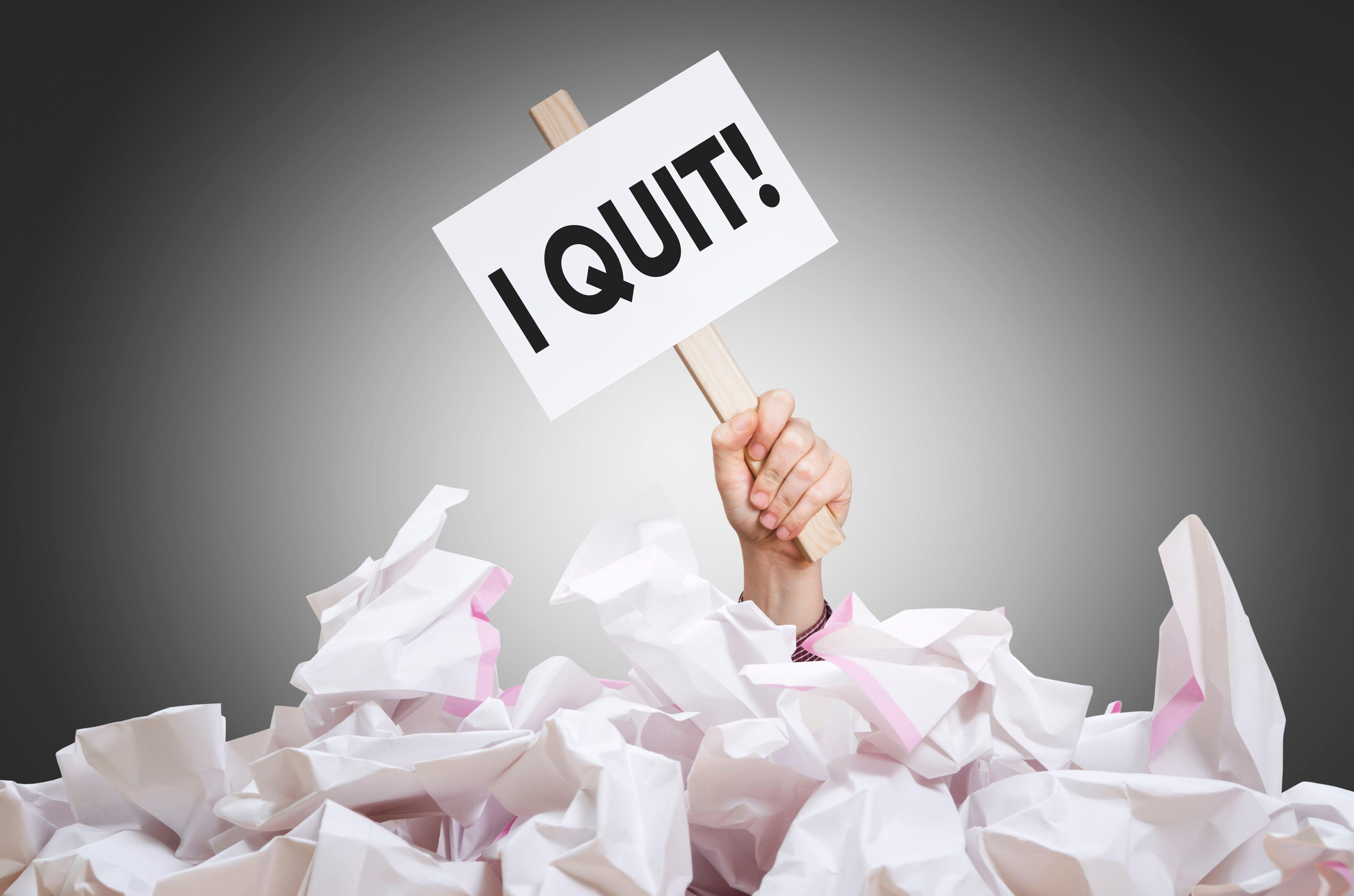 Workers who quit 'have more power nowadays': Payscale