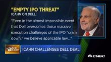 Faber Report: Icahn challenges Dell deal