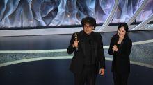 'Parasite' director Bong Joon Ho says his translator Sharon Choi has developed 'a huge fandom'