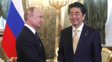 Putin and Abe discuss Kuril Islands, WWII peace treaty