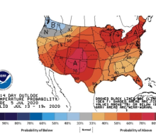 Heat wave to bake most of U.S.