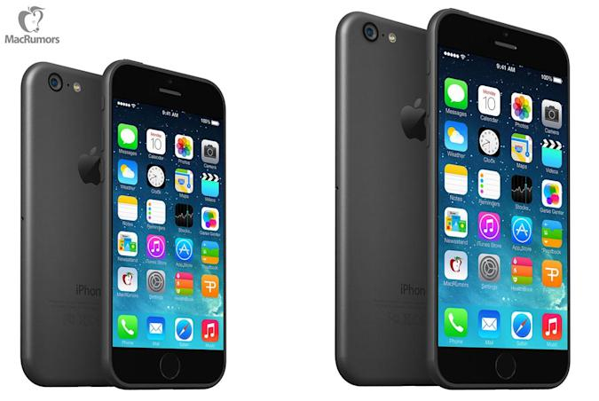 Neue iPhone 6-Mockups