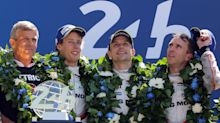 Timo Bernhard leads Porsche to victory at Le Mans 24 Hours