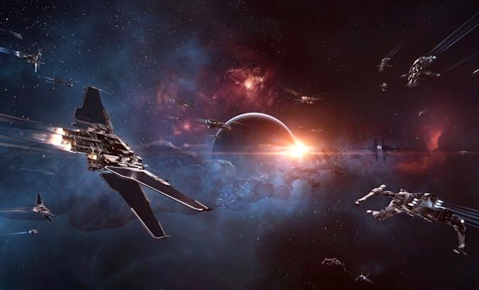 EVE Online video game.