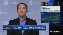 Red Hat CEO: Accelerated cloud adoption spending to be go...