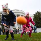 White House Easter Egg Roll: President Donald Trump, first lady Melania Trump welcome kids for festivities