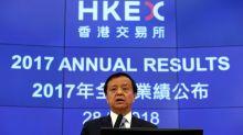HKEX boss Li sells $21.4 million worth of shares