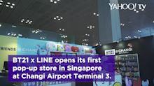 In Fashion: LINE Friends x BT21 pop-up at Changi Airport