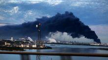Petrochemical blaze near Houston extinguished, company says
