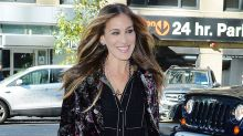 Sarah Jessica Parker Rocks Short Blond Hair While Filming New Movie in New York City -- See the Pic!