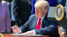 Donald Trump 'repeatedly tears up important documents that have to be taped back together by staff'