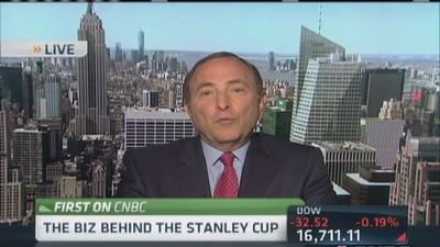 NHL's Bettman: Huge demand to 'get in'
