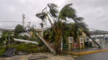 📷 Postes, árboles caídos y lluvia: así luce Cancún tras el paso del huracán Delta
