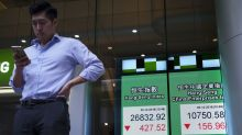 Asia shares sink after Wall Street sell-off