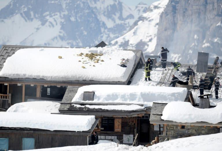 """Veyrat's """"La Maison des Bois"""" restaurant was damaged by fire in 2015 (AFP Photo/JEAN-PIERRE CLATOT)"""