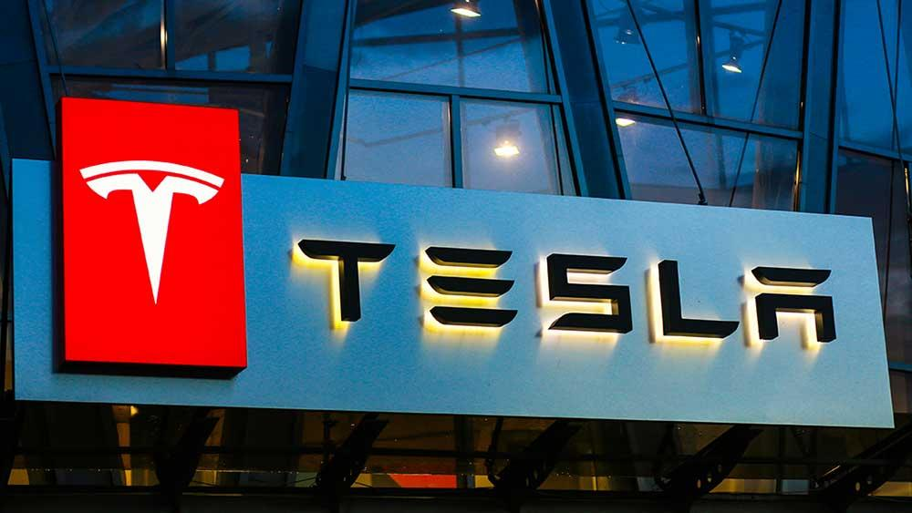 Dow Jones Futures Fall As Tesla Earnings Beat, While Apple Leads 4 Tech Giants Set To Report