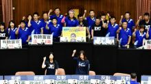 Taiwan lawmakers brawl in parliament over watchdog nomination