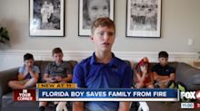 12-year-old saves siblings from house fire with just two minutes to spare