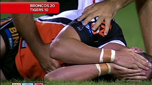 Horror night for WestsTigers