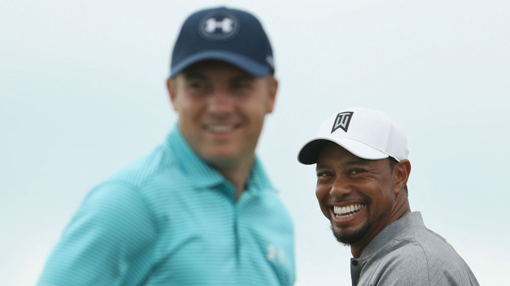 Unknown quantity Woods gets Spieth excited