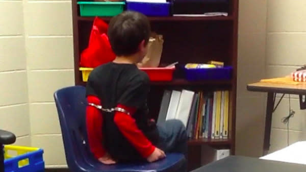 Federal Judge Rules Handcuffing Little Kids Above Their Elbows Is Unconstitutional
