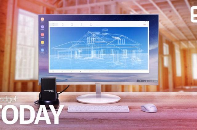 Samsung's phone-as-desktop concept now runs Linux