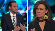 Lisa Wilkinson and Waleed Aly clash on live TV