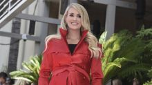 Tearful Carrie Underwood honoured with star on Hollywood Walk of Fame