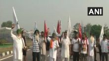Bharat Bandh: Farmers nationwide hold peaceful protests against Centre's farm bills; several roads blocked, police on alert