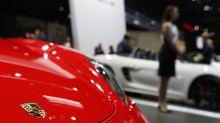 Porsche's head of powertrain development arrested, source says