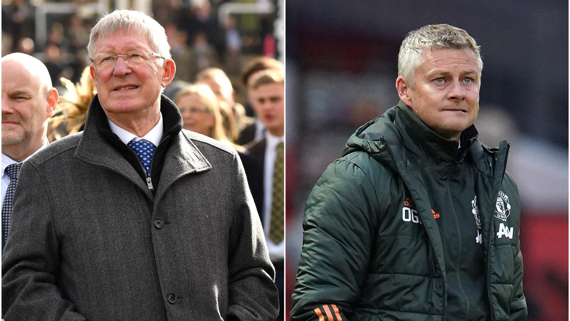 Sir Alex Ferguson hails job done by Ole Gunnar Solskjaer at Manchester United